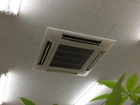 空調排気口清掃